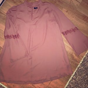 Dresses & Skirts - Bell Sleeve Chocolate Mocha Lucca Dress 👗
